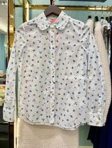 【kate spade】日本未入荷*dainty bloom ruffle shirt