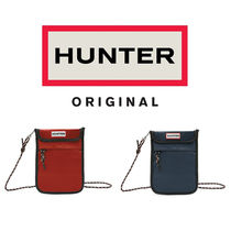 HUNTER★PACKABLE PHONE POUCH メッセンジャーバッグ/2色★S