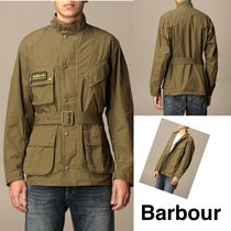 Barbour キャンバスブルゾン グリーン 21SS