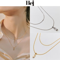 ★韓國人氣ブランド★Hei★baguette layered necklace_2色