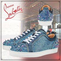 【直営店買付】Christian Louboutin Sonny Low No Limit Flat 青