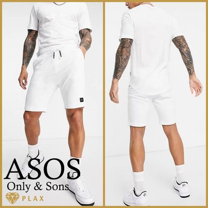 【ASOS】**Only & Sons*セットアップ ホワイト *