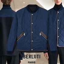 【BERLUTI】Reversible Quilted Bomber リバーシブル ボンバー