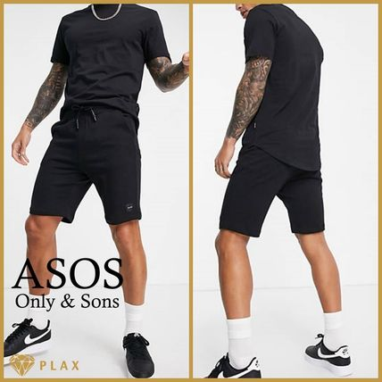 【ASOS】**Only & Sons* セットアップ ブラック *