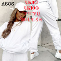 【ASOS】Weekend Collectiveスウェットセットアップ/ホワイト