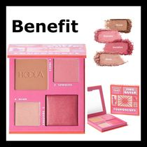 Benefit Fouroscope Fire Queen ブロンズ、チーク、ハイライタ