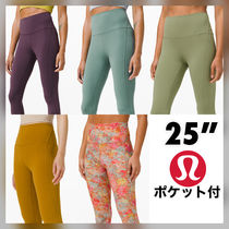 "lululemon★Align High Rise Crop with Pockets 25""/ポケット付"