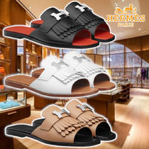 【HERMES】 21SS Auteuil Sandals 3colors Leather サンダル