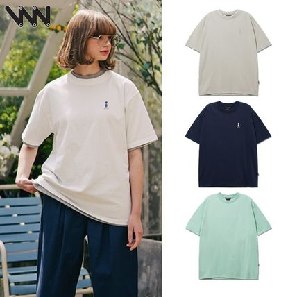 WV PROJECT★Palm Tree Short Sleeve T-Shirts JIST7503 4色
