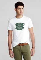 新作!★送料関税込★ Custom Slim Fit Ralph's Coffee T-Shirt
