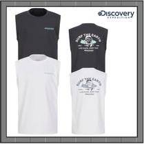 [DISCOVERY] Graphic Point Sleeveless Water T-shirt★人気★