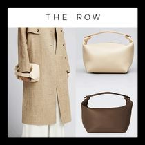 The Row Les Bains leather tote レザーバック トート ブラウン