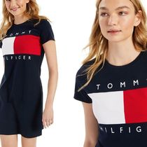 Tommy Hilfiger★期間限定セール/関税送料込★ロゴ入りワンピ