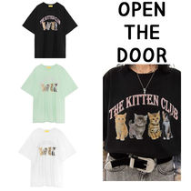 ★OPEN THE DOOR ★kitten 1/2 T  (3 colors) 追跡付