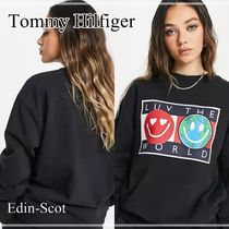 【Tommy Jeans】Luv the world ロゴ スウェット*送料関税込み