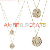 Amber Sceats(アンバー・シーツ) ネックレス・ペンダント Amber Sceats★ATHENS レイヤードネックレス★関税送料込み