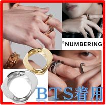 ☆BTS V着用☆【Numbering】☆# 240 GOLD / SILVER Rin.g☆