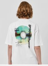 GROOVE RHYME(グルーヴライム) Tシャツ・カットソー セール!!GROOVERHYME*ALBUM PRINT OVER  T-SHIRTS (2カラー)