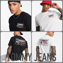 Tommy Jeans☆ NYスクリプト バックプリントTシャツ☆送関込