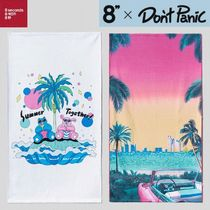8 SECONDS(エイトセカンズ) タオル ★8 SECONDS X DON'T PANIC SEOUL★POLY GRAPHIC TOWEL