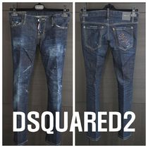 DSQUARED2(ディースクエアード) TROMBETTA JEAN CROPPED PANTS