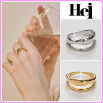 【Hei】bold two lines ring〜リング★OH MY GIRL着用 2021SS