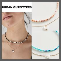 *URBAN OUTFITTERS*ビーズ レイヤー ネックレス セット