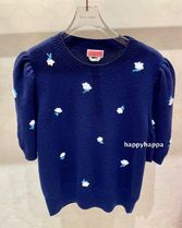 【kate spade】日本未入荷*dainty bloom applique sweater*
