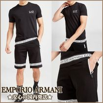 *Emporio Armani EA7*ロゴテーププリント セットアップ 送料無料