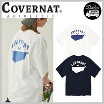 COVERNAT PAPER WHALE T-SHIRTS AB327  追跡付