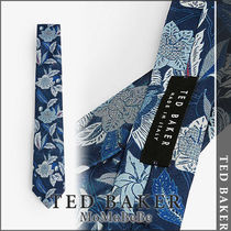 TED BAKER(テッドベーカー) ネクタイ 【国内発送・関税込】TED BAKER フローラルシルクネクタイ