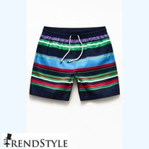 Polo Ralph Lauren Recycled Bermuda Striped 18 Swim Trunks