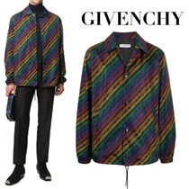 【GIVENCHY ジバンシィ】SALE★ロゴ プリントジャケット