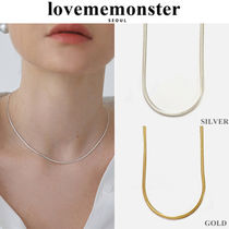 LOVE ME MONSTER(ラブミーモンスター) ネックレス・ペンダント ★人氣★LOVE ME MONSTER★Thick Flat Chain Necklace_2色