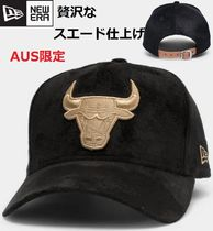 【NEW ERA】スエード★シカゴブルズSuede 9Forty K-Frame