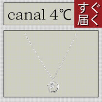 【canal 4℃】月モチーフ ネックレス