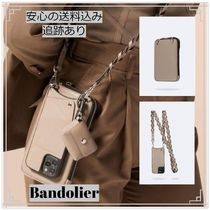 Bandolier 最新機種対応 Taupe Zoey iPhone ケース ポーチセット