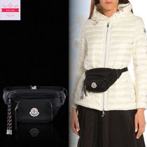 ◆VIP SALE◆MONCLER◆FELICIE ロゴ付き ベルトバッグ