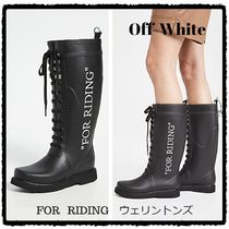 Off-White SALE☆ FOR RIDING ウェリントン