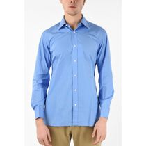 CHARVET シャツ Camicia Collo Italiano BLUE