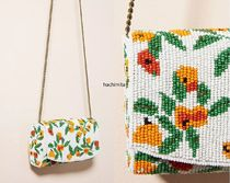 Anthropologie(アンソロポロジー) ショルダーバッグ・ポシェット 関税込み☆Vera for Anthropologie Perennial Beaded Clutch
