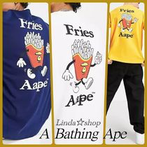*AAPE By A Bathing Ape* フライドポテト 半袖 Tシャツ