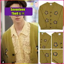 【MISTER CHILD】FLOWER CARDIGAN PAPAYA★Seventeen The8着用★