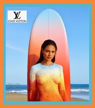 Louis Vuitton(ルイヴィトン) サーフボード 【LOUIS VUITTON】フィン付〈SURF ON THE BEACH〉224 x 56 x 7cm