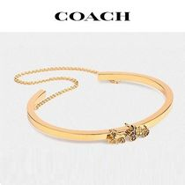 COACH ◆ horse and carriage double chain cuff