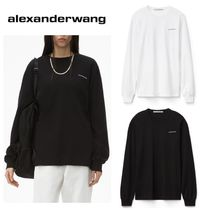 【ALEXANDER WANG】Unisex High Twist ロングTシャツ☆