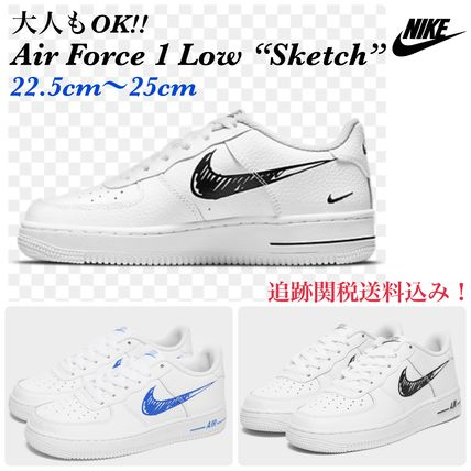 Nike キッズスニーカー 大人もOK!☆NIKE☆ AIR FORCE 1 LOW