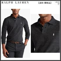 RalphLauren ポロシャツ☆ Custom Slim Fit Long Sleeve Polo Sh