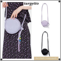 TARGETTO SEOULのFAUX LEATHER CIRCLE BAG 全2色