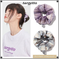 TARGETTO SEOULのCHECK SCRUNCHIES 全2色